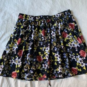 Floral Banana Republic Skirt
